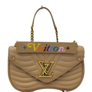LOUIS VUITTON NEW WAVE CHAIN MM CALFSKIN LEATHER